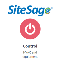 SiteSage controls for thermostats and equipment