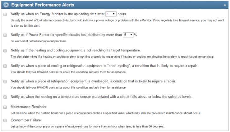 SiteSage Equipment Alerts